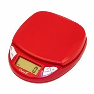 Escali N115CR Pico Digital Mini Scale, Cherry Red - click to enlarge