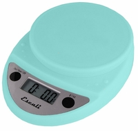 Escali P115AB Primo Digital Scale Aruba Blue - click to enlarge