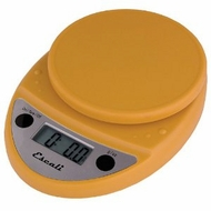 Escali P115MY Primo Digital Scale Mustard Yellow - click to enlarge