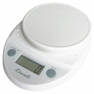 Escali P115W Primo Digital Scale White - click to enlarge