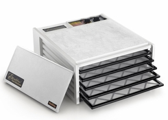 Excalibur 3526TW 5 Tray Dehydrator with Timer White - click to enlarge