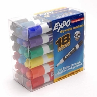 Expo Dry Erase Markers - click to enlarge