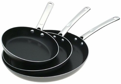 Farberware 20558 Nonstick Aluminum Skillets 3 Piece Set - click to enlarge