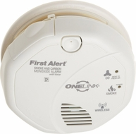 First Alert ONELink Smoke and Carbon Monoxide Alarm w/ Voice Location - click to enlarge