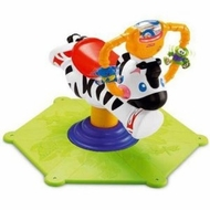 Fisher-Price Go Baby Go Bounce  Spin Zebra - click to enlarge