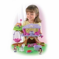 Fisher-Price Little People Fairyland Treehouse Giftset - click to enlarge