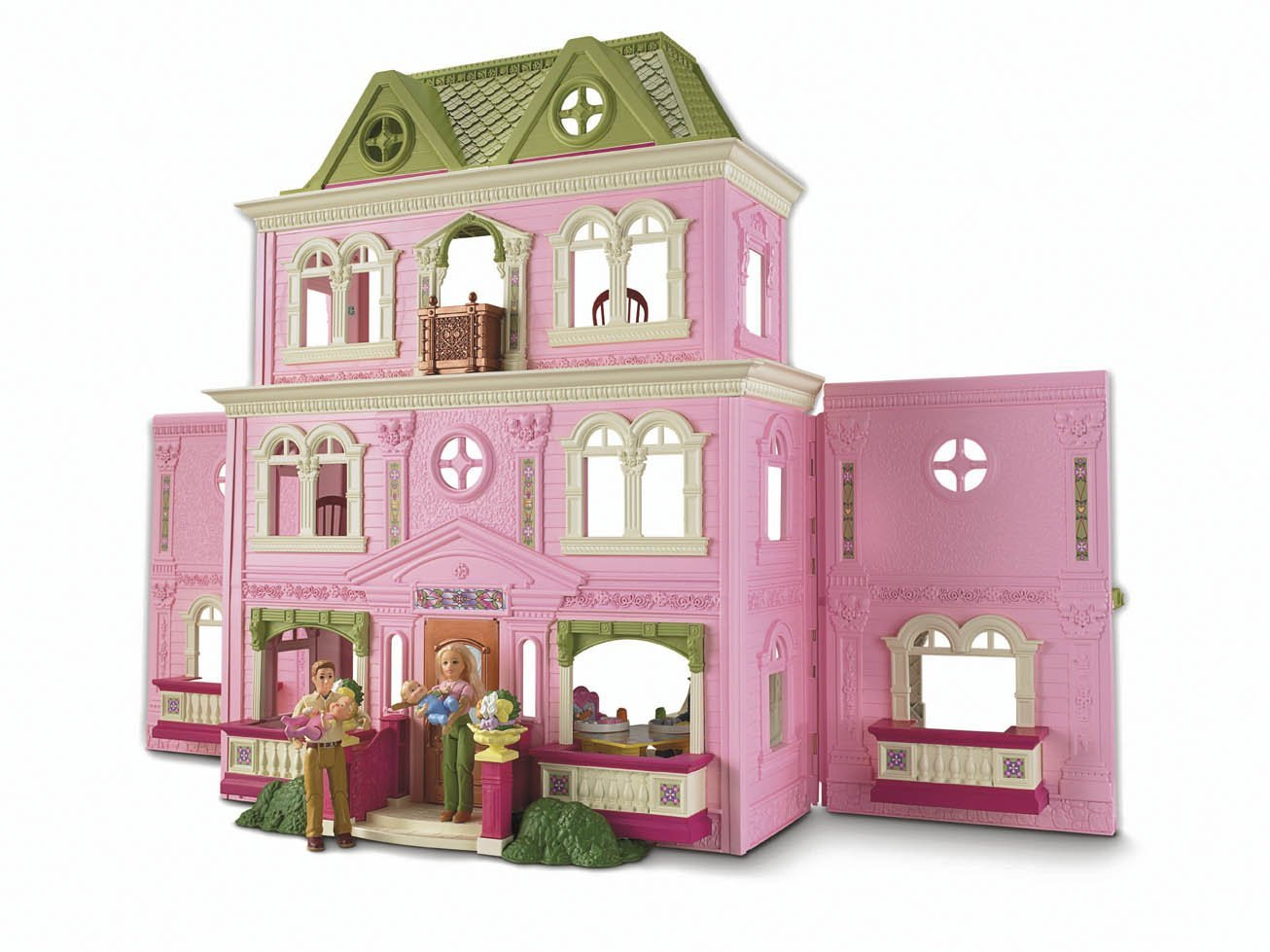 fisher price loving family grand dollhouse. Black Bedroom Furniture Sets. Home Design Ideas