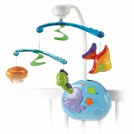 Fisher-Price Ocean Wonders Gentle Waves Musical Mobile - click to enlarge