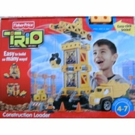 Fisher Price TRIO Construction Loader - click to enlarge
