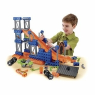 Fisher-Price TRIO Hot Wheels Stunt Ramp Builder - click to enlarge