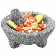 Fresco FMP-116 Molcajete Granite Mortar and Pestle - click to enlarge