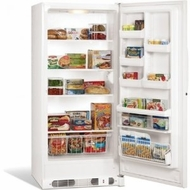 Frigidaire FFU21M7HW 21 Cu Ft Upright Manual Defrost Freezer: White - click to enlarge