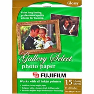 Fuji 44040133 Gallery Select Ink Paper - click to enlarge