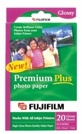 FujiFilm Inkjet Premium Plus Paper Glossy 4 x 6 20 pack - click to enlarge