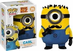 Funko Despicable Me 2 Mustache Carl Pop Vinyl Figure EE - click to enlarge
