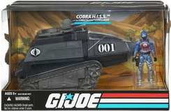 G.I. Joe Cobra H.I.S.S. Tank with H.I.S.S. Commander - click to enlarge