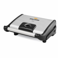 George Foreman GR0080S Stainless Steel 80 Square Inch Grill with Variable Temperature Control - click to enlarge