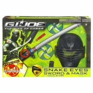 Gi Joe Movie Snake Eyes Sword and Mask - click to enlarge