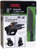 Ginsu 04870 8 Piece Countersaver Set - click to enlarge