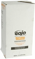 GOJO 7556-02 Natural Orange Pumice Hand Cleaner, 5000 mL (Case of 2) - click to enlarge