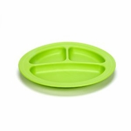 Green Eats 2 Pack Divided Plates, Green - click to enlarge