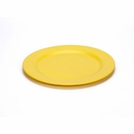 Green Eats 2 Pack Plates, Yellow - click to enlarge