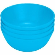 Green Eats 4 Pack Snack Bowl, Blue - click to enlarge