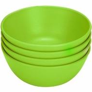 Green Eats 4 Pack Snack Bowl, Green - click to enlarge