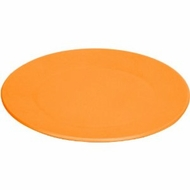 Green Eats 4 Pack Snack Plate, Orange - click to enlarge