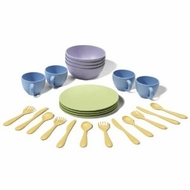 Green Toys Dish Set : Made in America - click to enlarge