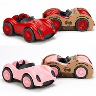 Green Toys Race Cars, 1- Red and 1-Pink - click to enlarge