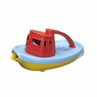 Green Toys Red Tug Boat: Made in America - click to enlarge