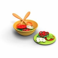 Green Toys Salad Set : Made in America - click to enlarge