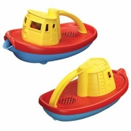 Green Toys Scoop and Pour Tug Boats (Set of 2) - click to enlarge
