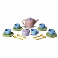 Green Toys Tea Set : Made in USA - click to enlarge