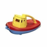 Green Toys Yellow Tug Boat : Made in America - click to enlarge