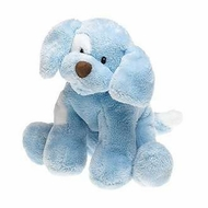 Gund 058377 Blue Spunky the Dog - Medium 10 inch - click to enlarge