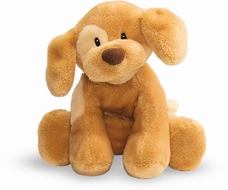 Gund 058380 Light Brown 10 inch Dog Spunky Plush Toy - click to enlarge