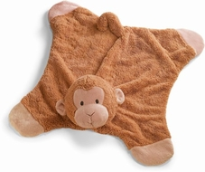 Gund 058932 Baby Comfy Cozy Pippy Monkey Blanket - click to enlarge