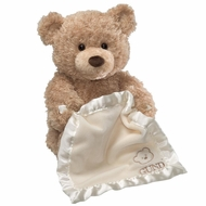 Gund 320193 Peek A Boo Bear-Animated With Voice - click to enlarge