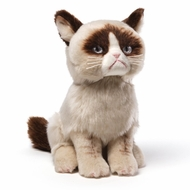 Gund 4040133 The Internet Sensation Grumpy Cat 9 Inch Plush - click to enlarge