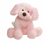 Gund Baby 058373 Spunky Plush Puppy Toy, Pink - click to enlarge