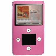Haier ibiza Rhapsody H1A030P 30 GB Wi-Fi/MP3 Player -Pink - click to enlarge