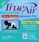 Hamilton Beach 04283 Extra Strength Air Cleaner Diaper Odor Filter - click to enlarge