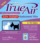 Hamilton Beach 04284 Extra Strength Air Cleaner Pet Odor Filter - click to enlarge