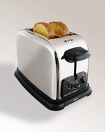 Hamilton Beach 22559 2 Slice Classic Chrome Extra-Wide Slot Toaster - click to enlarge