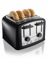 Hamilton Beach 24444 4 Slice Smart Toast Extra Wide Slot Toaster - click to enlarge