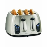 Hamilton Beach 24502 Digital 4 Slice Toaster - click to enlarge
