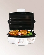 Hamilton Beach 25285 Indoor Grill with Removable Grids - click to enlarge