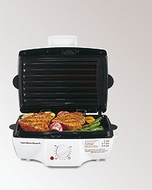 Hamilton Beach 25295 Grill/Griddle with Removable Grids - click to enlarge